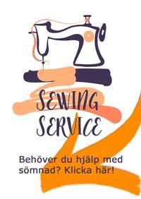 sy service - hjälp att sy